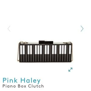 Piano Box Clutch by Pink Haley❤️